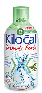 KILOCAL DRENANTE FORTE THE VERDE 500 ML - Farmacento