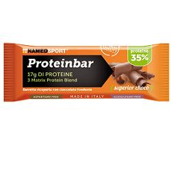 NAMED SPORT PROTEINBAR SUPERIOR CHOCOLATE 50 G - Farmastar.it