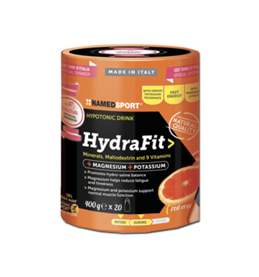 NAMED SPORT HYDRAFIT INTEGRATORE ALIMENTARE MAGNESIO POTASSIO POLVERE 400 G - Farmastar.it