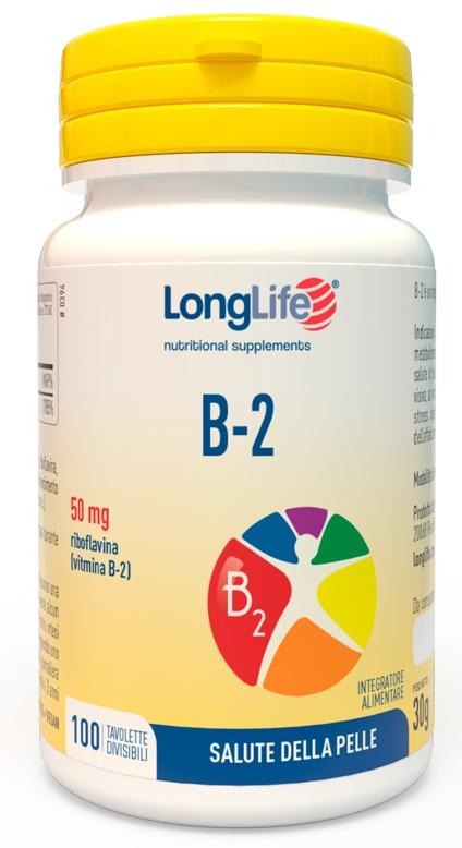 LONGLIFE B2 50 MG 100 TAVOLETTE - Zfarmacia