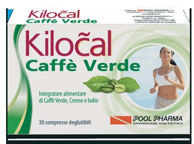 KILOCAL CAFFE' VERDE 30 COMPRESSE - Farmabravo.it
