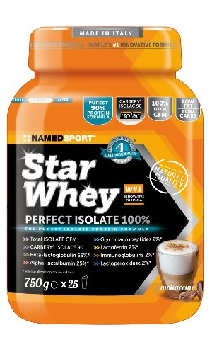 NAMED SPORT STAR WHEY MOKACCINO 750 G - Farmastar.it
