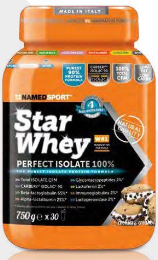 STAR WHEY COOKIES & CREAM 750 G - Antica Farmacia Del Lago