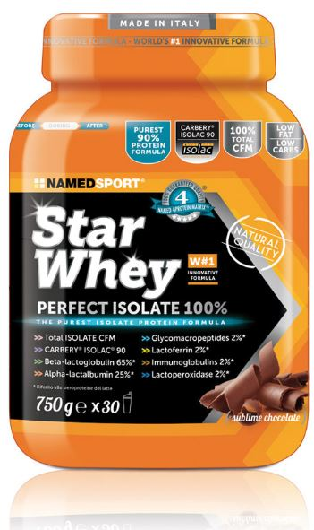 STAR WHEY SUBLIME CHOCOLATE 750 G - Farmamille