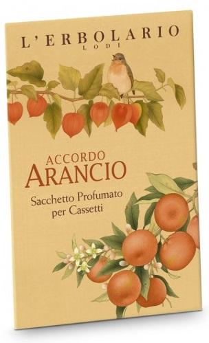 ARANCIO SACCHETTO PROFUMATO PER CASSETTI - Farmacento