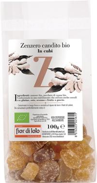 ZENZERO CANDITO CUBI BIO 100 G - Farmamille