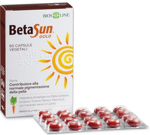 BIOSLINE BETA SUN GOLD 60 CAPSULE 34 G - FARMAEMPORIO