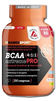 NAMED SPORT BCAA 4:1:1 EXTREME PRO 210 COMPRESSE - Farmastar.it