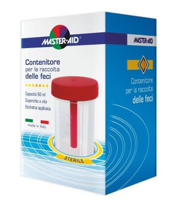 CONTENITORE RACCOLTA FECI MASTER-AID 60 ML - Antica Farmacia Del Lago