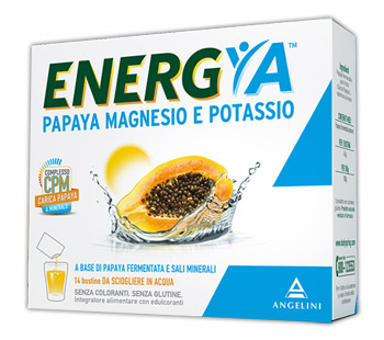 BODY SPRING PAPAYA FERMENTATA MAGNESIO POTASSIO 14 BUSTINE - farma-store.it