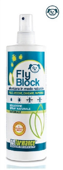FLYBLOCK LOZIONE ANTIPARASSITARIA CANE 400 ML - Farmastar.it
