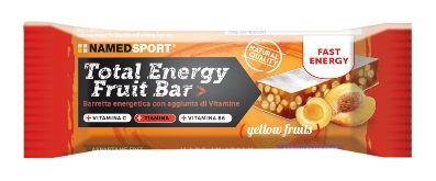 NAM;ED SPORT TOTAL ENERGY FRUIT BAR YELLOW FRUIT 1 PEZZO - Farmastar.it
