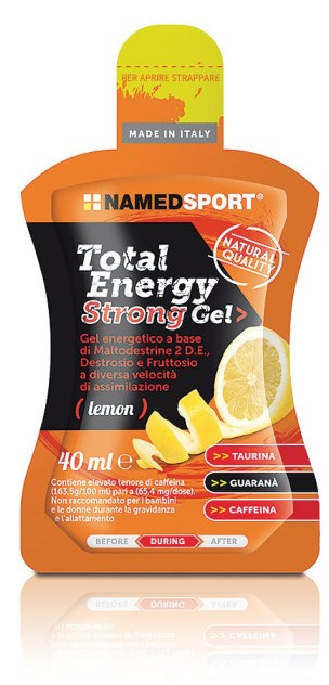 TOTAL ENERGY STRONG LEMON GEL 40 ML - Farmastar.it