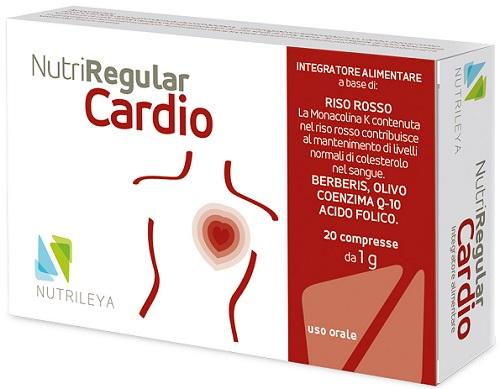 NUTRIREGULAR CARDIO 20 COMPRESSE - Farmacento