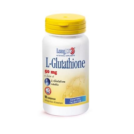 LONGLIFE LGLUTATHIONE 90 COMPRESSE 50 MG - Zfarmacia