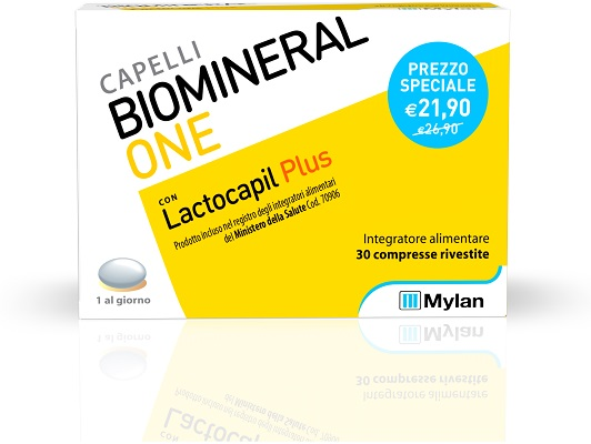 BIOMINERAL ONE LACTOCAPIL PLUS 30 TP - Farmacia 33