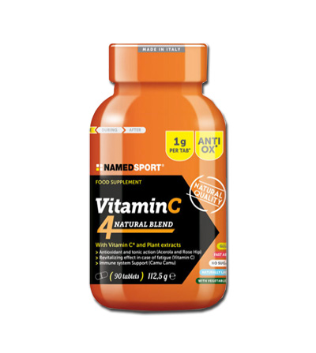 VITAMIN C 4 NATURAL BLEND 90 COMPRESSE - FARMAPRIME