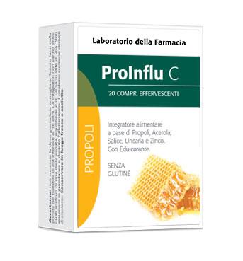 LDF PROINFLU C 20 COMPRESSE EFFERVESCENTI - FARMAEMPORIO