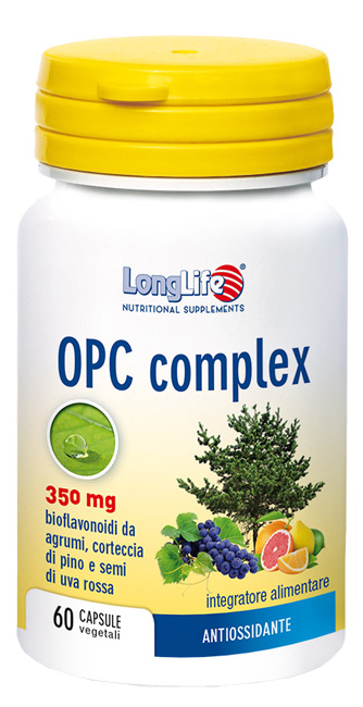 LONGLIFE OPC COMPLEX 60 CAPSULE VEGETALI - Farmastar.it