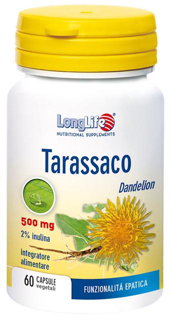 LONGLIFE TARASSACO 60 CAPSULE - Farmaciaempatica.it
