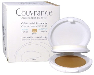 EAU THERMALE AVENE COUVRANCE CREMA COMPATTA COLORATA NF OIL FREE NATURALE 9,5 G - Farmastar.it