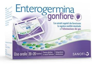 ENTEROGERMINA GONFIORE 20+20 BUSTINE - Farmaciasconti.it