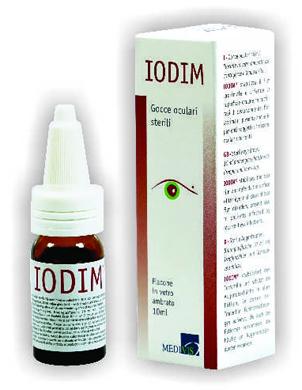 IODIM GOCCE OCULARI 10 ML STERILI - Farmamille