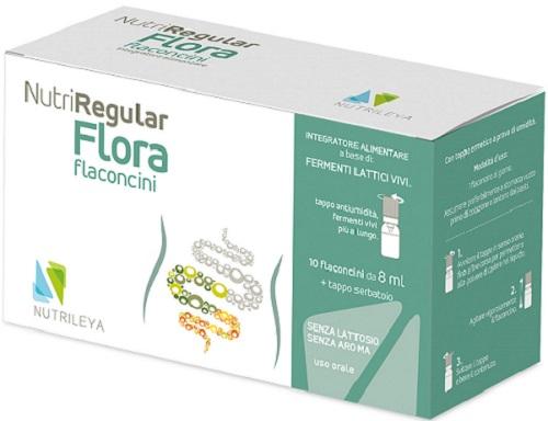 NUTRIREGULAR FLORA 10 FLACONCINI 10 ML - Farmacia 33