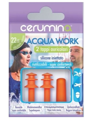 CERUMINA ACQUA WORK 2PZ - Parafarmaciabenessere.it