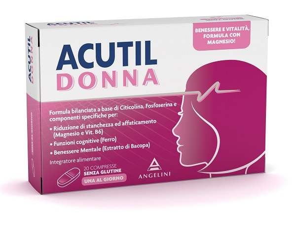 ACUTIL DONNA 20 COMPRESSE - Farmalandia
