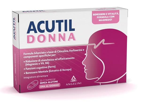 ACUTIL DONNA 20 COMPRESSE - La tua farmacia online