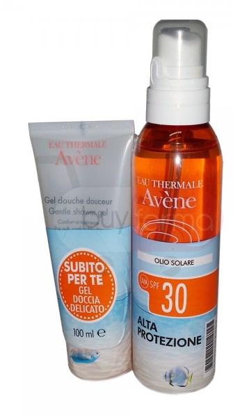 Eau Thermale Avene Confezione Speciale Olio 30 con Gel Doccia 100 ml - Farmalilla