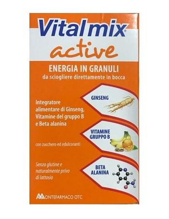 Vitalmix Active 14 Bustine Energia in granuli novità 2017 - La tua farmacia online