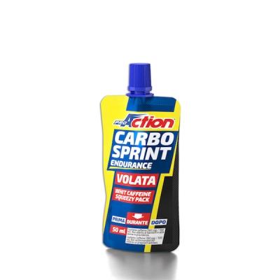 ProAction Carbo Sprint Endurance Volata 50 ml Gusto Arancia Rossa - La tua farmacia online