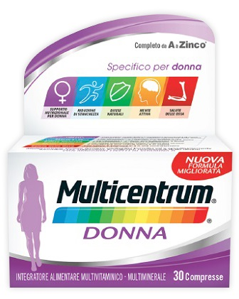 MULTICENTRUM DONNA 30 COMPRESSE - Zfarmacia