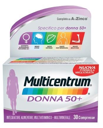 MULTICENTRUM DONNA 50+ 90 COMPRESSE - Zfarmacia