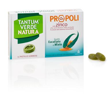 TANTUM VERDE NATURA PASTIGLIE GOMMOSE EUCALIPTO & MIELE 30 G - Farmacento