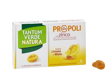TANTUM VERDE NATURA PASTIGLIE GOMMOSE LIMONE & MIELE 30 G - Antica Farmacia Del Lago