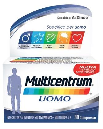 MULTICENTRUM UOMO 30 COMPRESSE - Zfarmacia