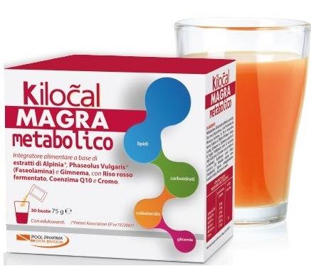 Kilocal Magra Metabolico Integratore Alimentare 30 Bustine da 2,5 g - La tua farmacia online