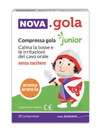 NOVA GOLA ARANCIA/VITAMINA C 20 COMPRESSE - FARMAEMPORIO
