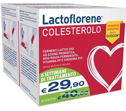 Lactoflorene Colesterolo Integratore Fermenti Bipack 40 Bustine - La tua farmacia online