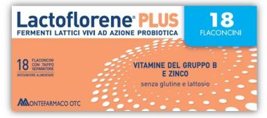 Lactoflorene Plus 18 Flaconi 180 ml - Farmalilla