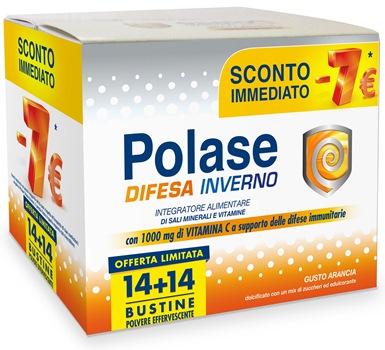 Polase Difesa Inverno Integratore 14+14 Bustine - La tua farmacia online
