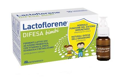 Lactoflorene Difesa Bambini 10 Flaconi 100 ml - Farmalilla