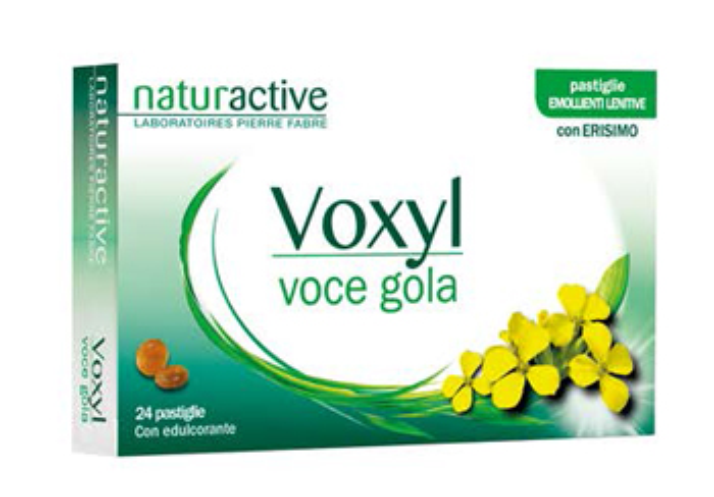 VOXYL VOCE GOLA 24 PASTIGLIE - Farmacento