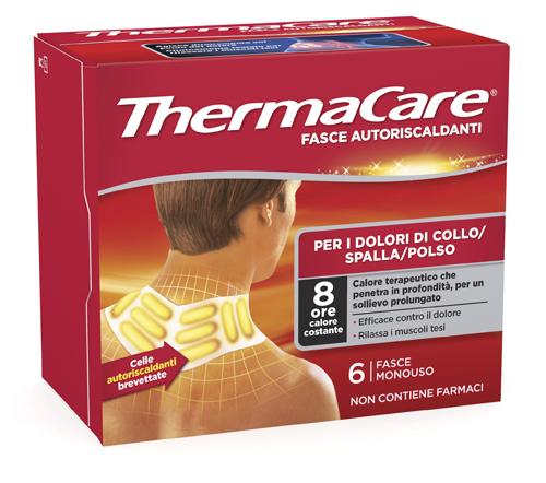 fasce autoriscaldanti a calore terapeutico thermacare collo spalla polso 6 pezzi - Zfarmacia