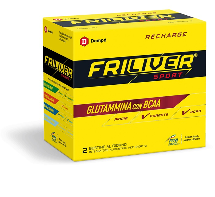 FRILIVER SPORT RECHARGE 8 BUSTINE 160 G - Farmacia 33