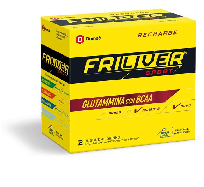 FRILIVER SPORT RECHARGE 8 BUSTINE 160 G - Farmamille