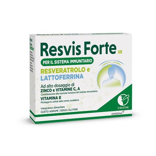RESVIS FORTE XR BIOFUTURA 12 BUSTE - Farmacia 33